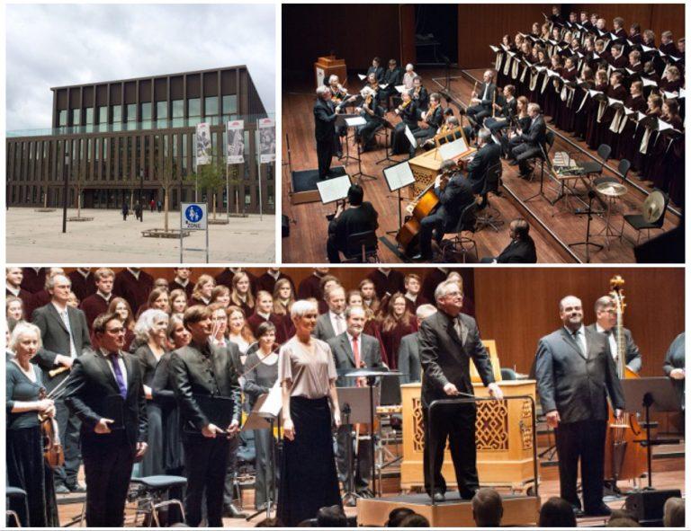 2017 J.S.Bach - BWV 80 (Stadthalle Reutlingen, Fotos: Hochschule Reutlingen)