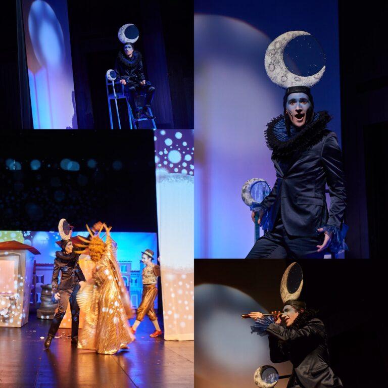 """2019 - Mond in """"Perô - oder die Geheimnisse der Nacht"""", Musiktheater im Revier Gelsenkirchen ®Björn Hickmann"""